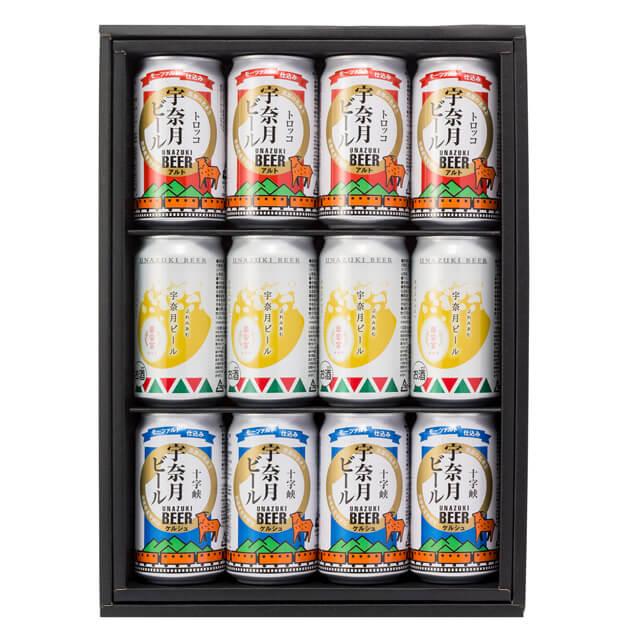 宇奈月ビール 12缶セット